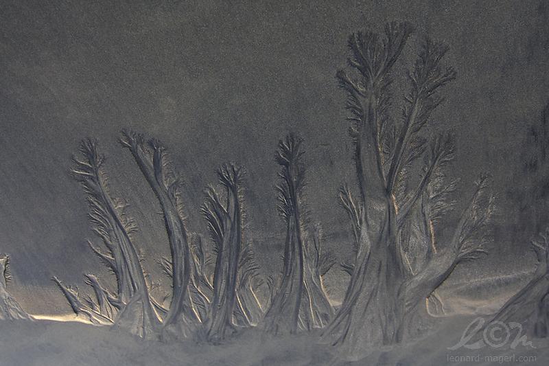 sandscape in midnightsun