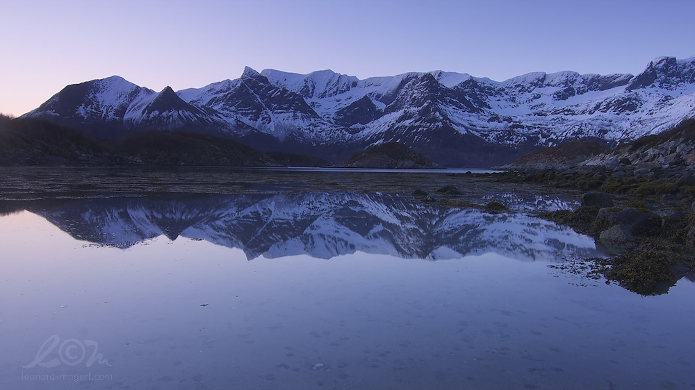 early morning reflection