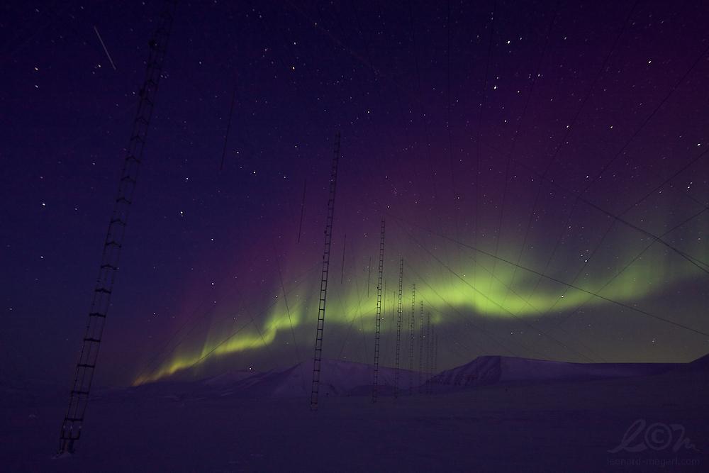 Aurora over SuperDARN